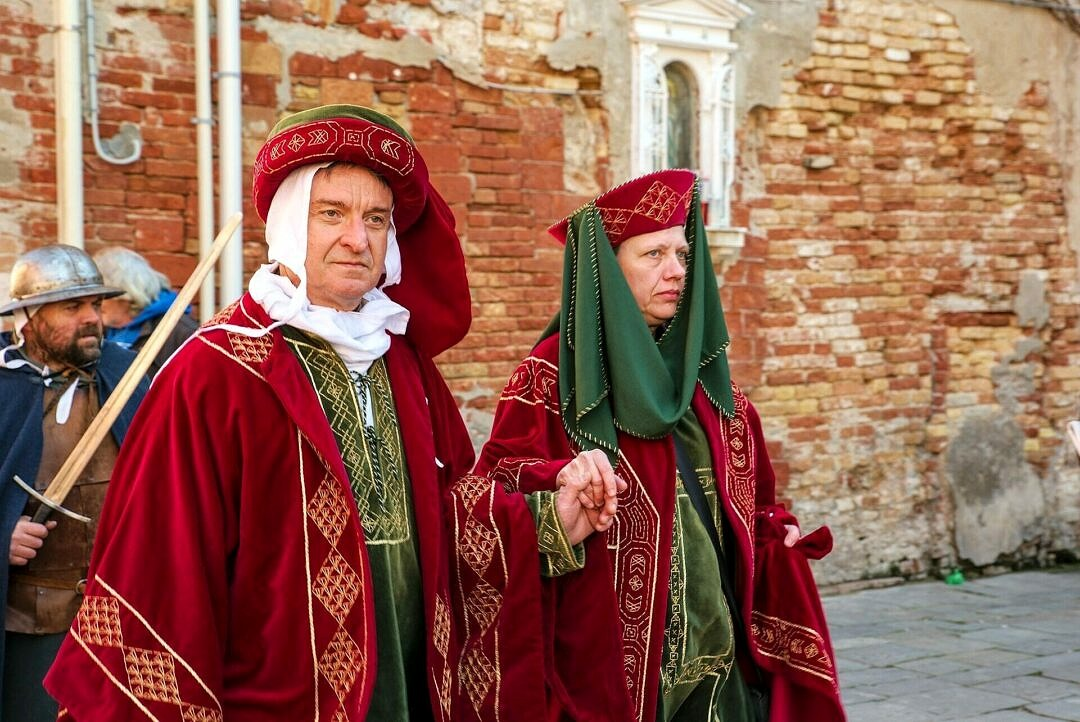 Historical pageant in Venice