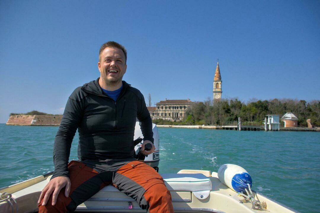 The only way to get to Poveglia is having a boat